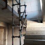 Treppenlochgerüst